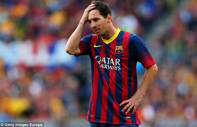 Lionel Messi (Foto: Daily Mail)